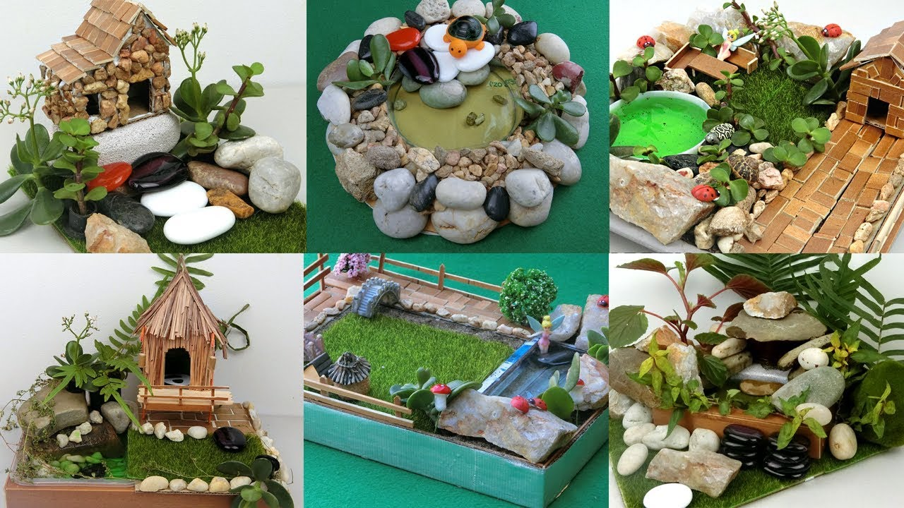 8 Easy DIY Fairy Gardens You can Make At Home | Simple and Quick Crafts  ideas - YouTube