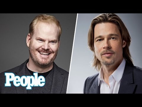 Brad Pitt Talks For 1st Time Since Divorce, Jim Gaffigan On Wife's Brain Tumor | People NOW | People