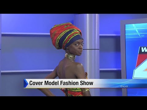 Cover model fashion show