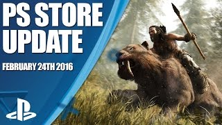 PlayStation Store Highlights - 24th February 2016