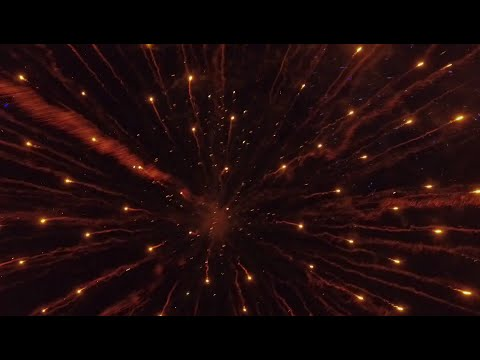 Drone - Into The Works of Fire - Lake Hopatcong NJ Fireworks 2016