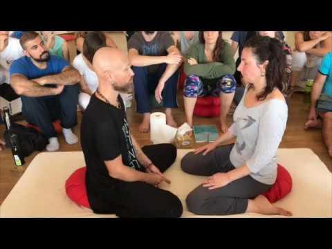 BioDynamic Breathwork demo. Heart Opening (Thoracic belt of tension) with founder Giten Tonkov