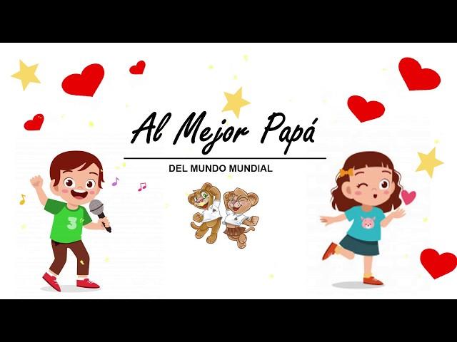 Saludo día del papá Kínder C Pumahue Chicauma