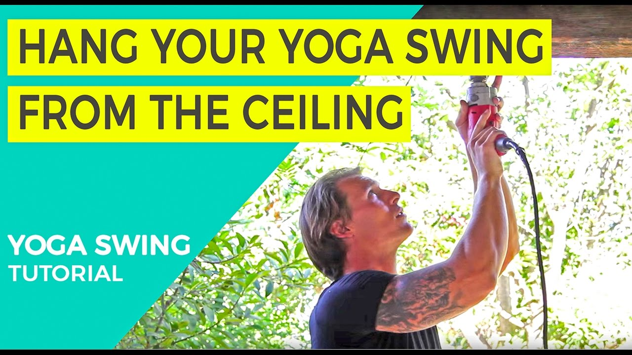 How To Install Your Ceiling Plate For Yoga Swing Suspension Tutorial