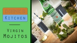Virgin Mojitos (alcohol Free) | Drinks Kitchen