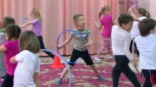 Физкультура в детском саду(Физкультурные занятия в детском саду http://bibigon-film.ru., 2015-02-16T13:00:37.000Z)