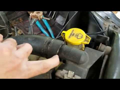 2001 Dodge Ram 1500 Replacing The Thermostat Youtube
