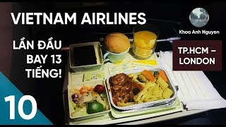 Flying from Ho Chi Minh City to London Heathrow on Vietnam Airlines' Economy Class