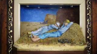 Van Gogh - Rest from Work - Art work 3D