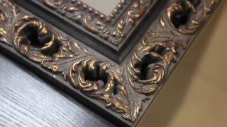Оформление зеркала в багетную раму(Создание видео студия Мирный Пиксель http://mipix.ru Зеркало в интерьере вещь необходимая, а зеркало в багетной..., 2016-04-10T07:16:12.000Z)