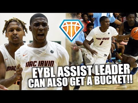 EYBL ASSIST LEADER CAN ALSO GET A BUCKET!! | Marcus Watson Jr Is LETHAL With The Rock In His Hands