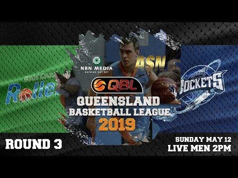 #QBL19 Round 3 - Rollers vs Rockets (Men)
