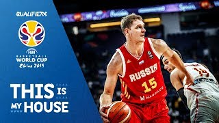 Top Plays: Timofey Mozgov - Russia | FIBA Basketball World Cup 2019 European Qualifiers