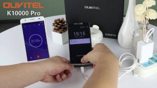 OUKITEL K10000 Pro charging test by 12V/2A flash charger