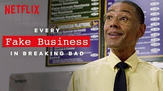 Every Fake Business in Breaking Bad | Netflix