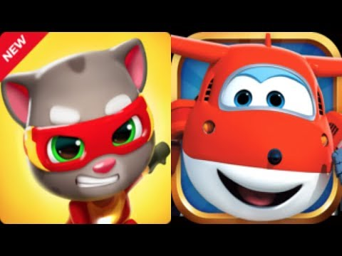 Talking Tom Hero Dash Ft.Super Wing Dizzy Run* Gameplay For Kid #3