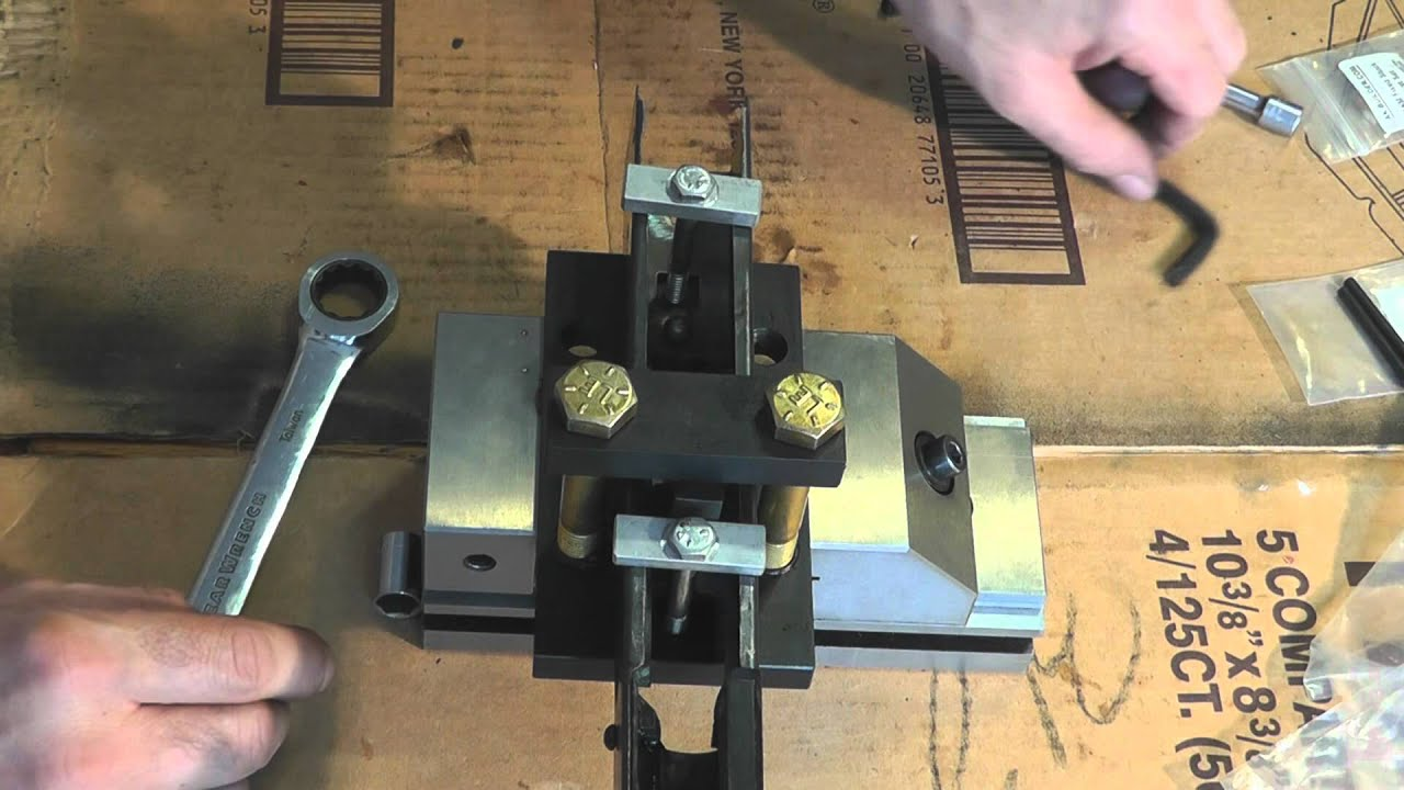 AK47 Kitchen build trigger guard installation tothtool installation tool