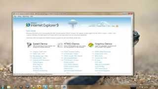 Demonstration d'Internet Explorer 9 Platform Preview 3