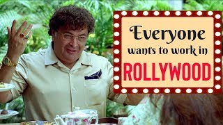 Everyone Wants to Work in Rollywood | Farhan Akhtar , Konkana Sen , Rishi Kapoor | Luck By Chance