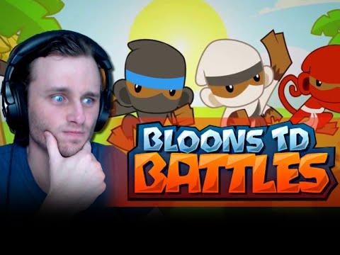 Bloons TD Battles   SEND THE ZEBRAS!