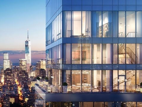 The triplex penthouse in New York City