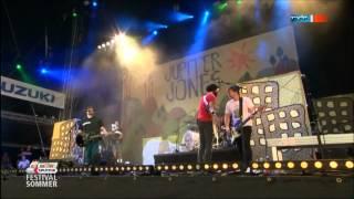 Jupiter Jones Kopf hoch und Arsch in den Sattel Live @ Highfield 2012 MDR SPUTNIK Festival Sommer