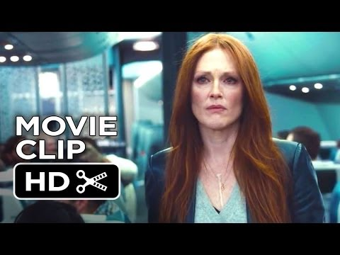 Non-Stop Movie CLIP - Passengers Question Bill (2014) - Julianne Moore, Liam Neeson Thriller HD