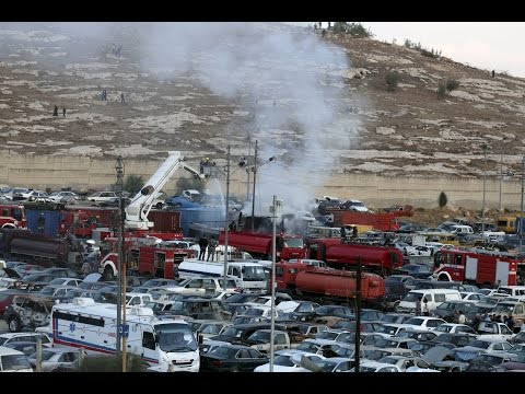 Containers filled with fireworks explode in Amman, killing eight