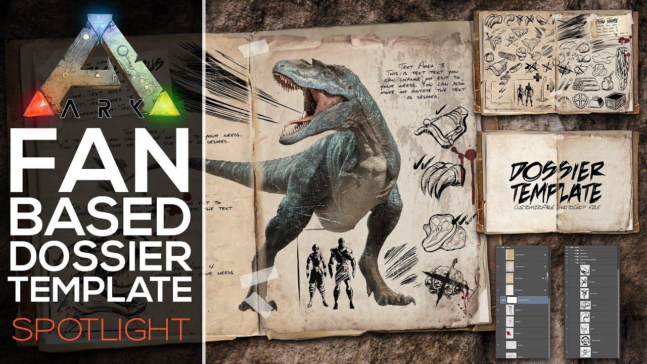 spotlight dossier template ark survival evolved