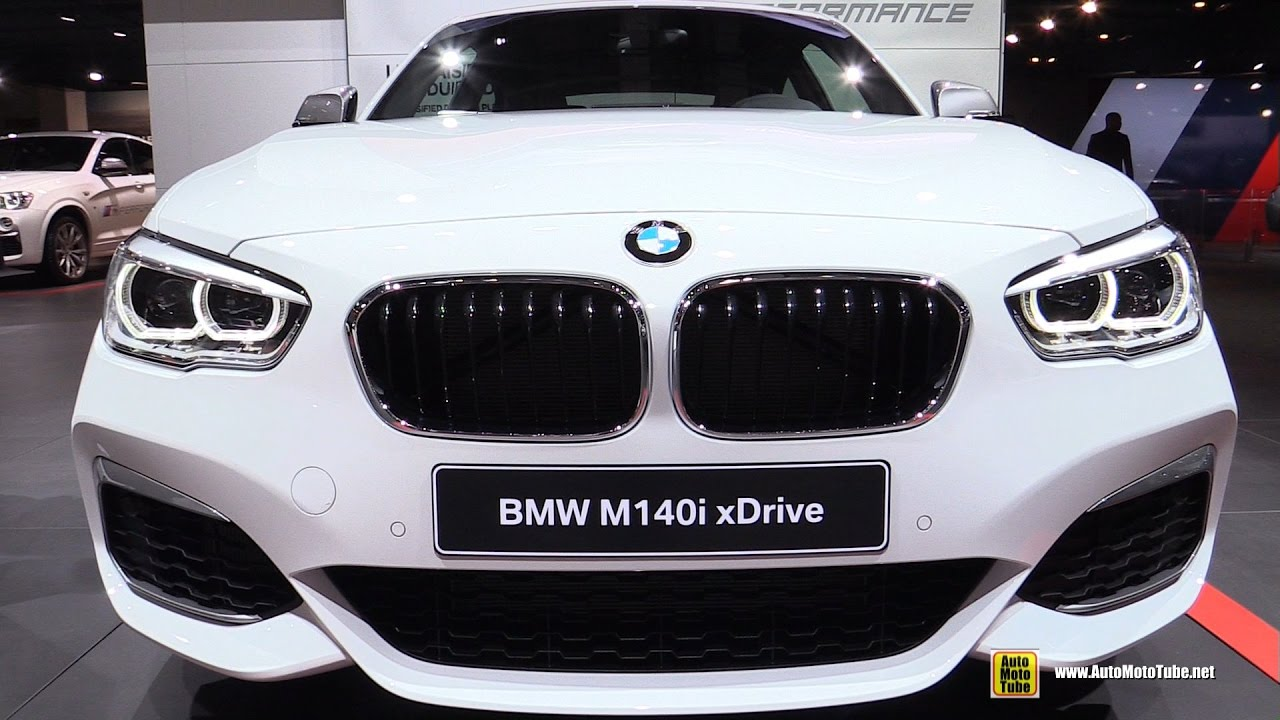 2017 bmw m140i xdrive exterior and interior walkaround 2016 paris motor show youtube. Black Bedroom Furniture Sets. Home Design Ideas