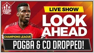 Manchester United vs Young Boys | MOURINHO To DROP STAR PLAYERS!