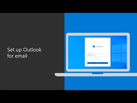 How to set up your work email with Outlook