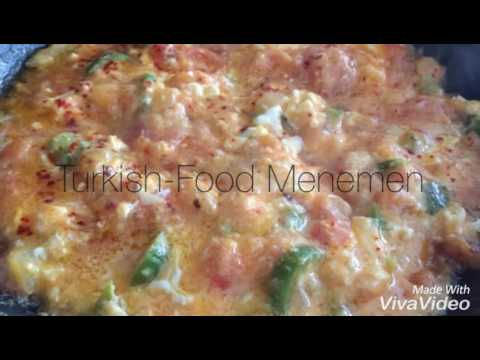 Easy 10min Turkish-Food for Beginners (Menemen)