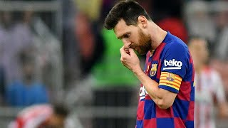 Leo Messi Reacts After Barcelona's Loss