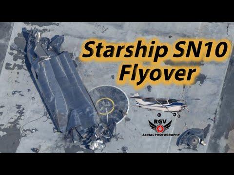 Starship SN10 Flight & Flyover