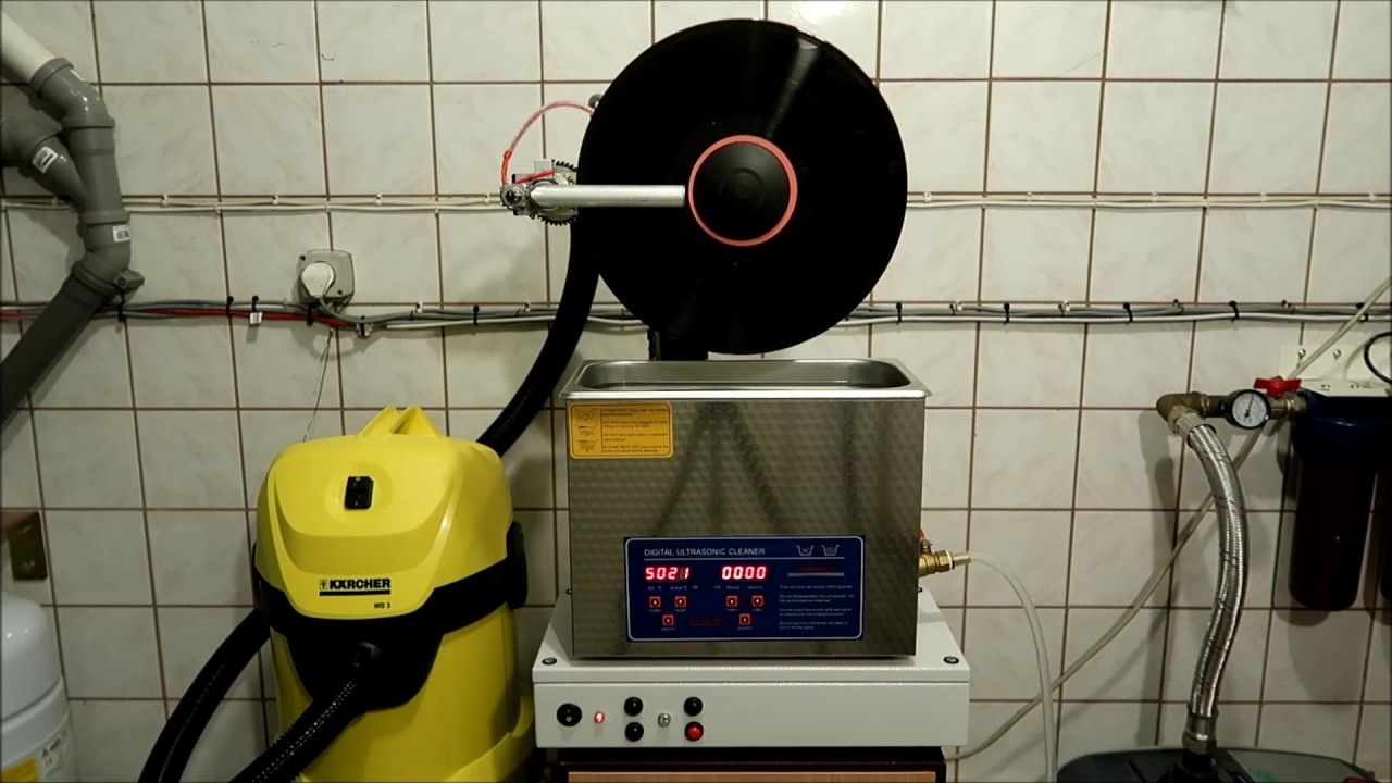 Diy Full Automatic Ultrasonic Vinyl Cleaner Machine Youtube