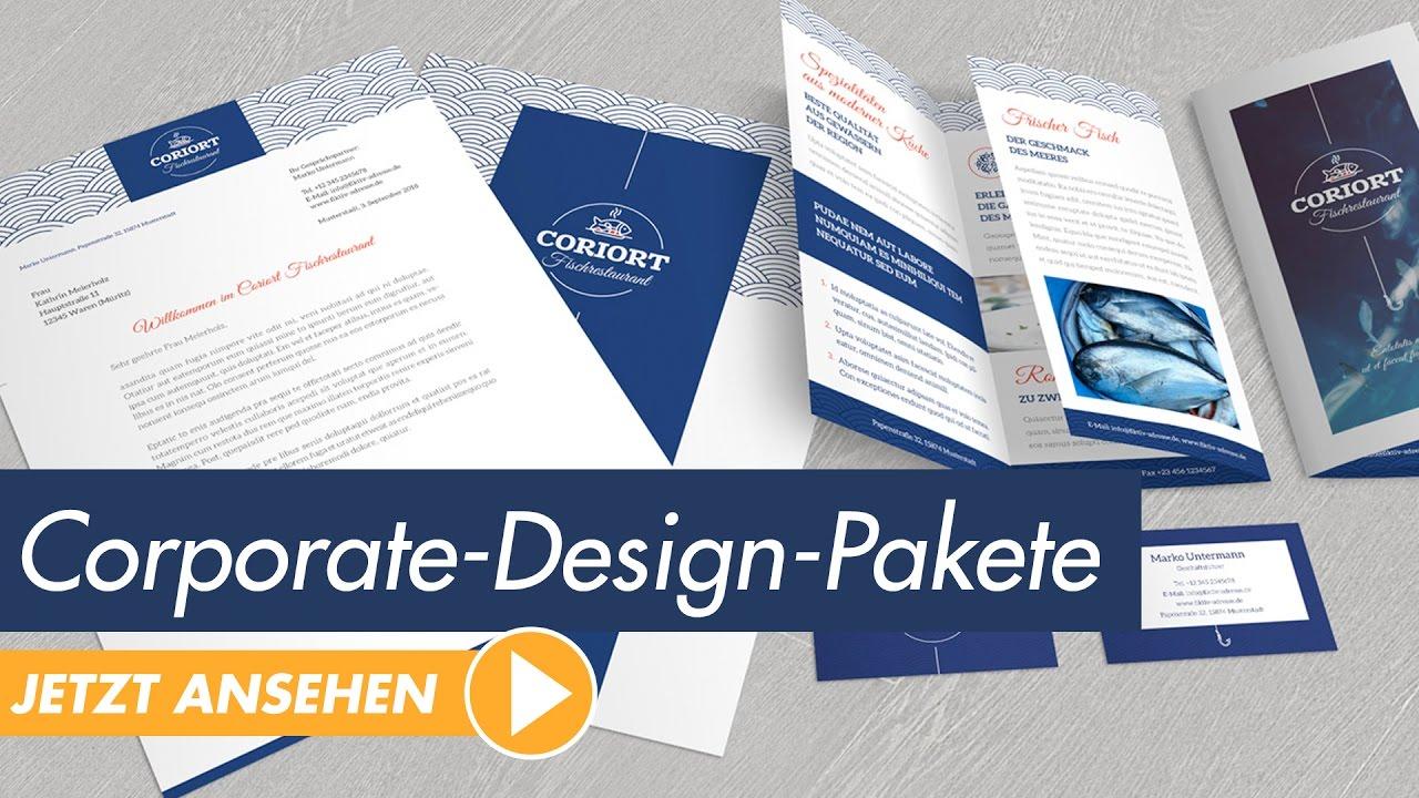 InDesign-Vorlagen: Warum Corporate-Design-Pakete verwenden? - YouTube