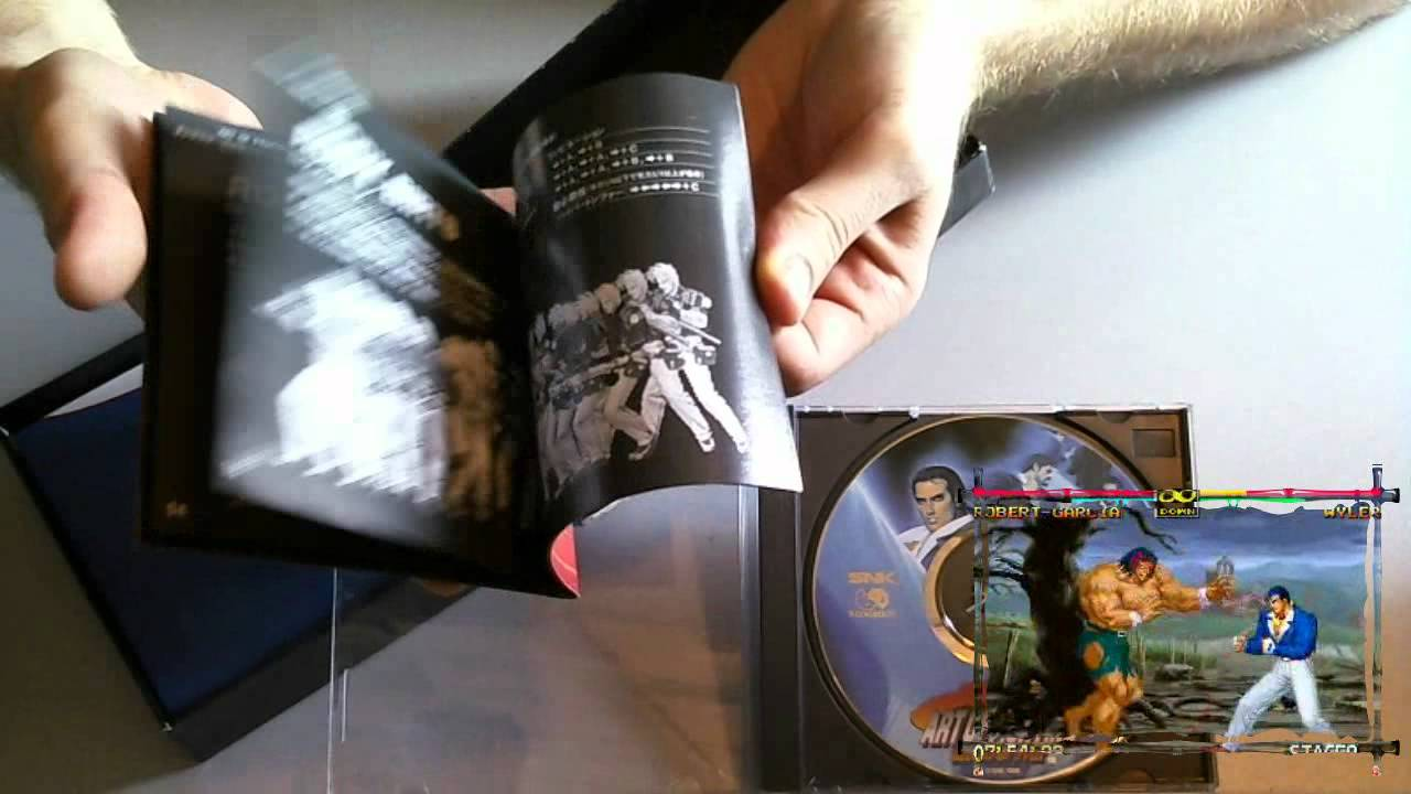 Bitgen Unboxing Art Of Fighting 3 Limited Edition Snk Neo Geo Cd Jap Italiano Youtube