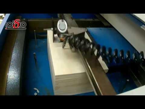 Χάραξη laser σε ξύλινο κουτί.