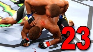 UFC 2 Career Mode - Part 23 - MIDDLEWEIGHT CHAMPIONSHIP! (EA Sports UFC 2016 Gameplay)