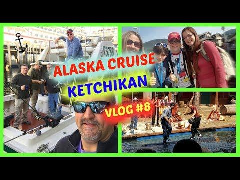 ALASKA CRUISE KETCHIKAN VLOG #8