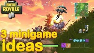 Fortnite - 3 minigame ideas (playground)    [2]
