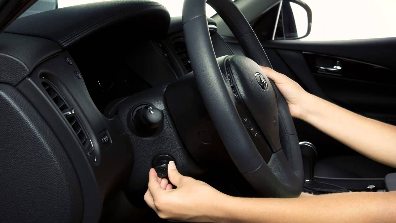 2014 Infiniti QX50  TiltTelescopic Steering Column  YouTube