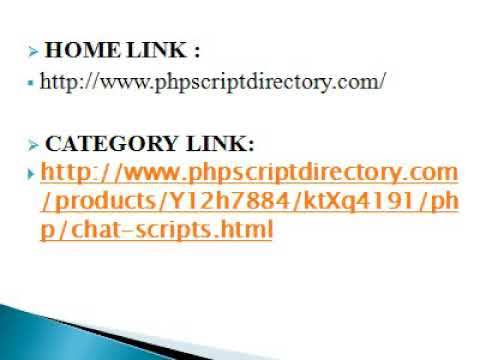 PHP Chat Script, Live Chat PHP Script, Chat Script Software, Live Chat Software