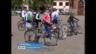 ГТРК СЛАВИЯ Ст Русса велоквест  16,05,16