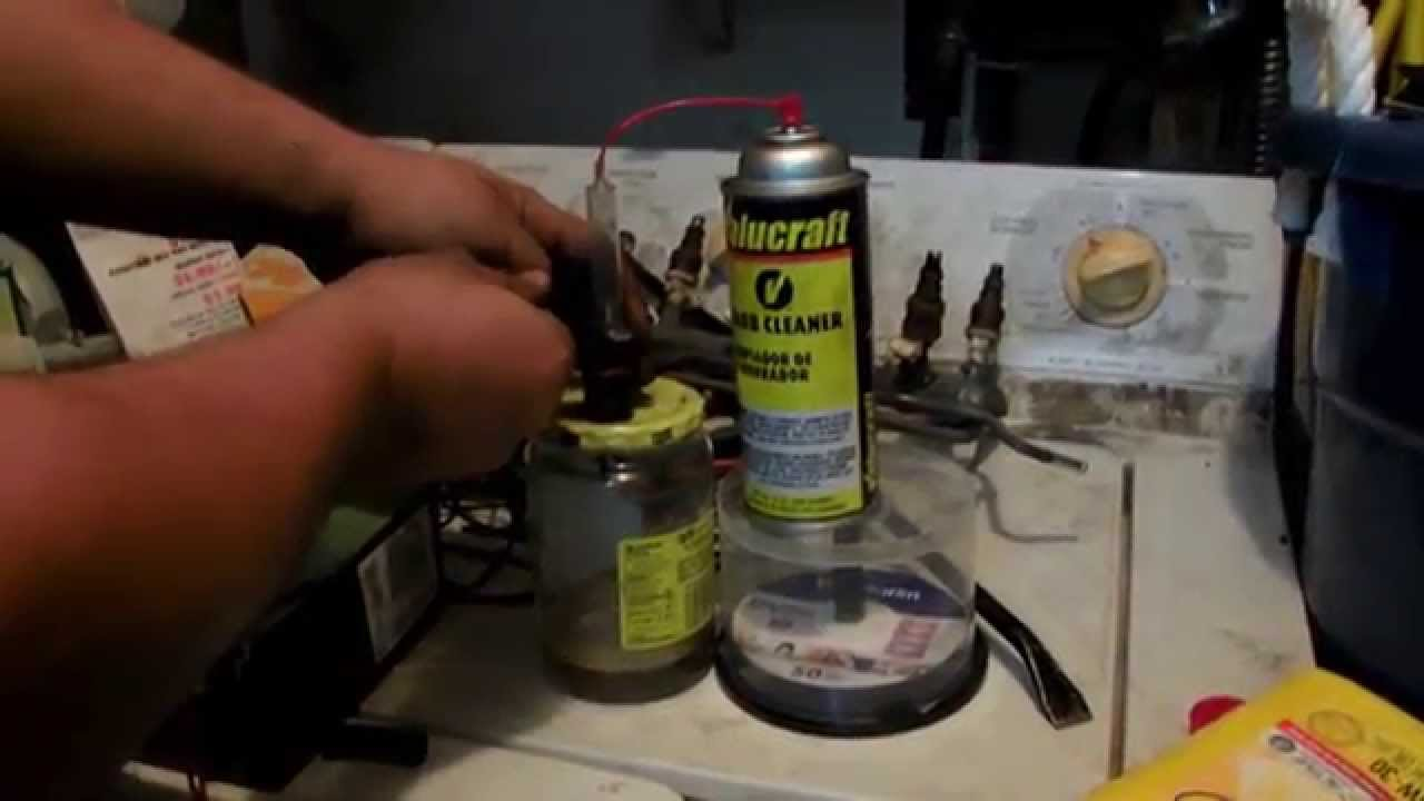 How to clean fuel injectors at home youtube how to clean fuel injectors at home solutioingenieria Image collections