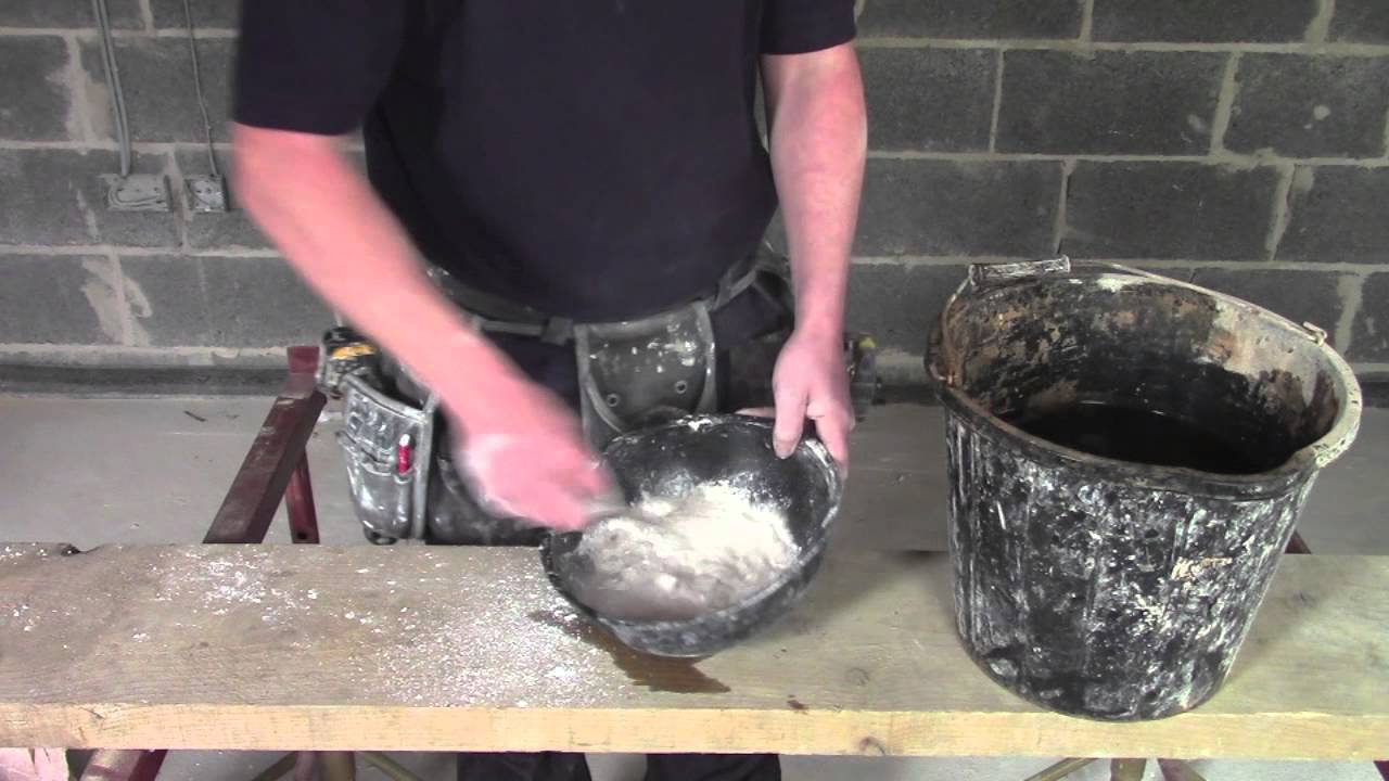 Plaster coving installation how to mix casting plaster youtube