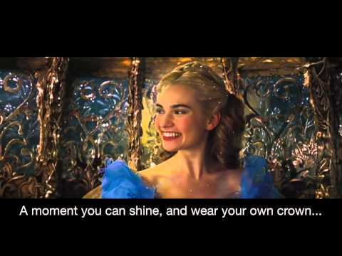 Sonna Rele - Strong with lyrics (Cinderella 2015)