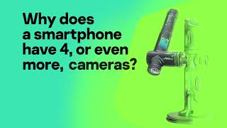 Why do smartphones have 4 or more cameras? We've got the answer