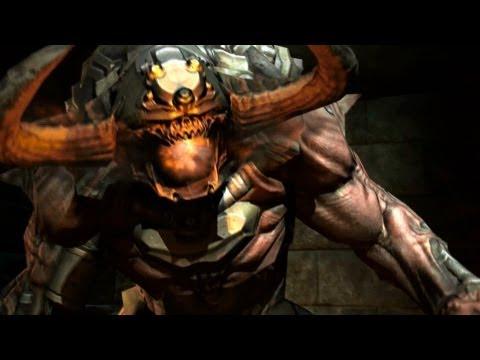 Doom 3 BFG Edition PC Final Boss Cyberdemon fight on Nightmare Difficulty